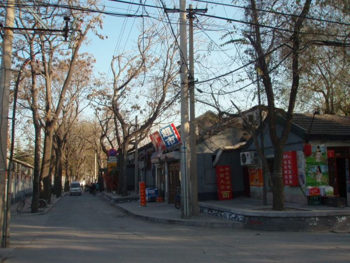 I don't think China is that dirty, anyway. Picture: a hutong near Houhai in Beijing.